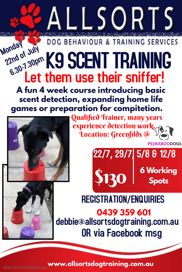 scent course july 22nd